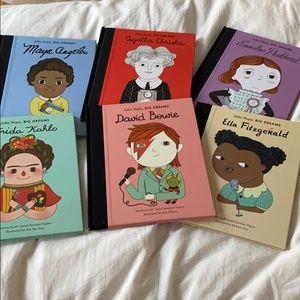 Little people big dreams book bundle